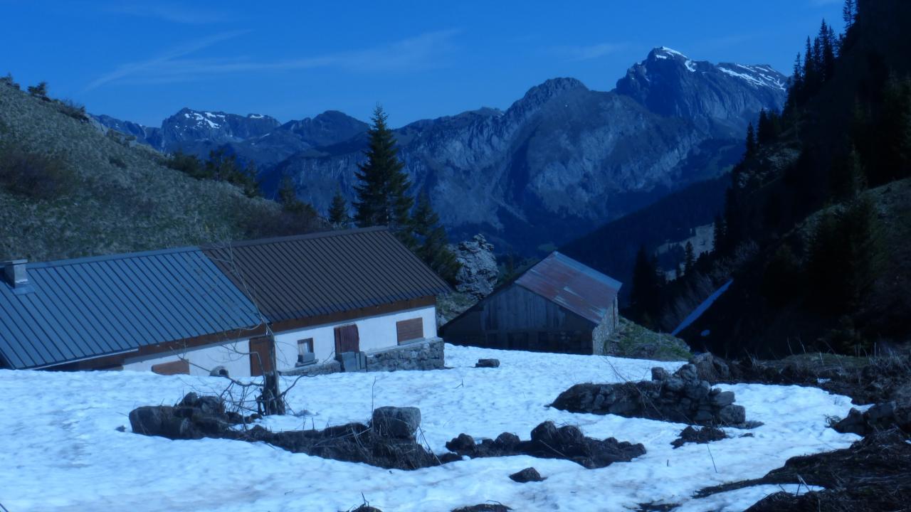 alpage de Tavaneuse, Cinquième étape